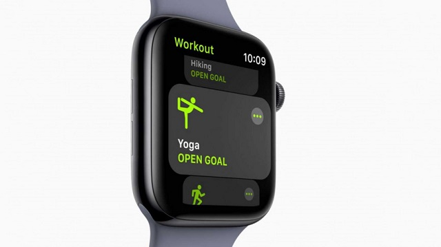 Yoga Session in Apple Watch
